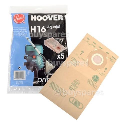 Remplacement Aspirateur Sac Pour Hoover Aquamaster Aquajet S4470-Pack de 5