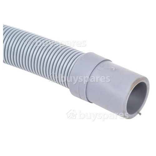 Baumatic Universal 1.5m Drain Hose (Straight 21mm To Right Angle End 22mm Internal Dia.s'