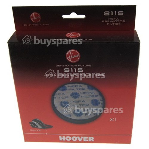 GENUINE HOOVER CURVE S115 HEPA FILTER