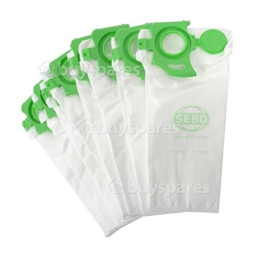 Sebo 7029ER Felix Filterbox Filter Bag (Pack Of 8)