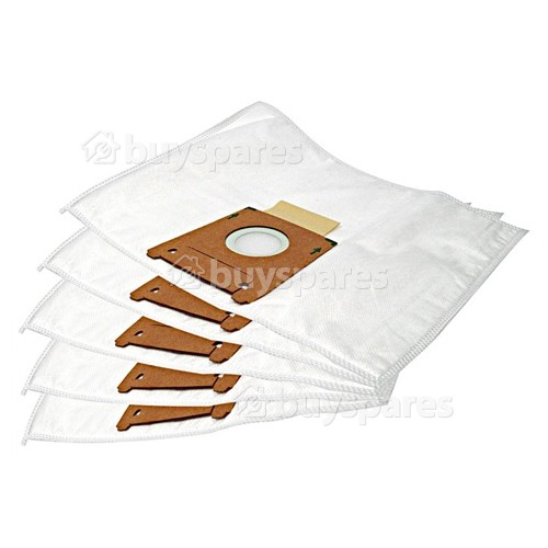 Type D/E/F/G/H Filter-Flo Synthetic Dust Bags (Pack Of 5) - BAG262