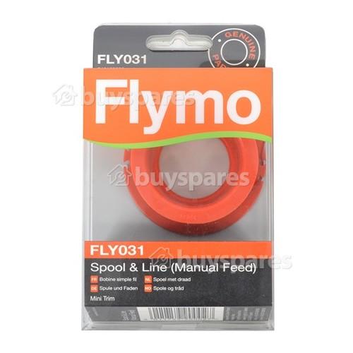 Flymo FLY031 Rasentrimmer-Spule & Faden (manuelle Zufuhr)