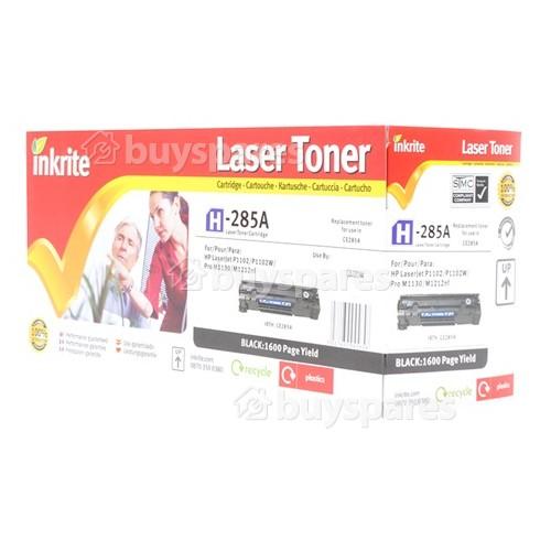 Inkrite Kompatible HP CE285A Laser-Tonerkassette Schwarz