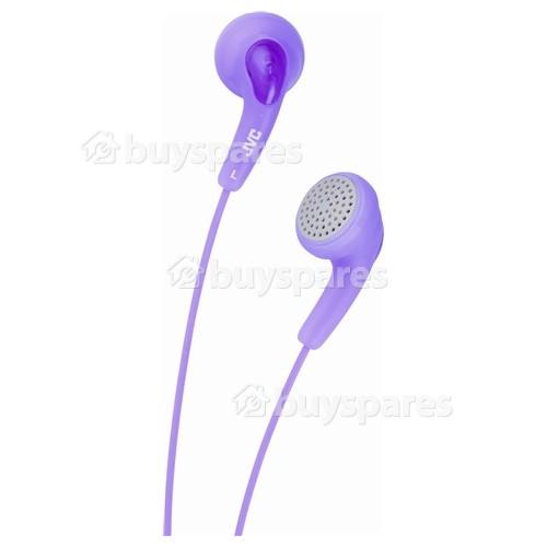 JVC HAF140 'GUMY' In-Ear Headphones - Pink