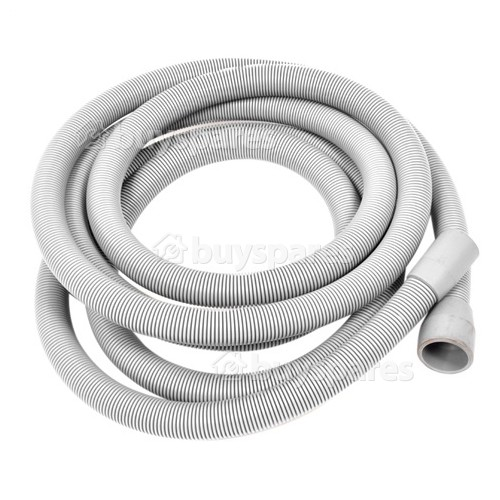 Universal 3.6m Extension Drain Hose Straight 22mm / 29mm Internal Dia.s'