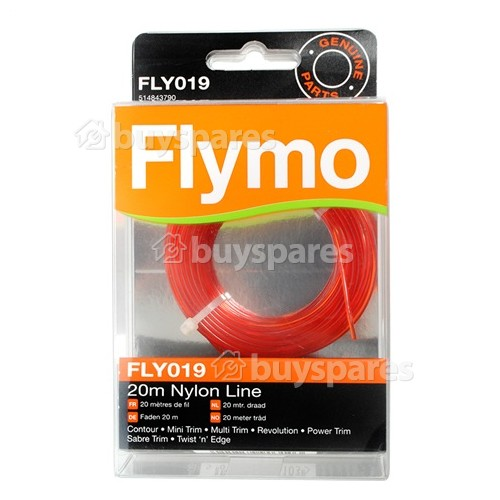 Flymo FLY019 Rasentrimmer Nylonfaden