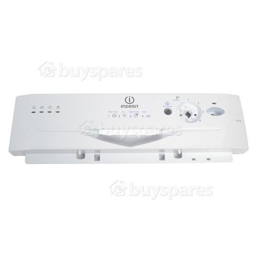 Merloni (Indesit Group) Control Panel Fascia - White