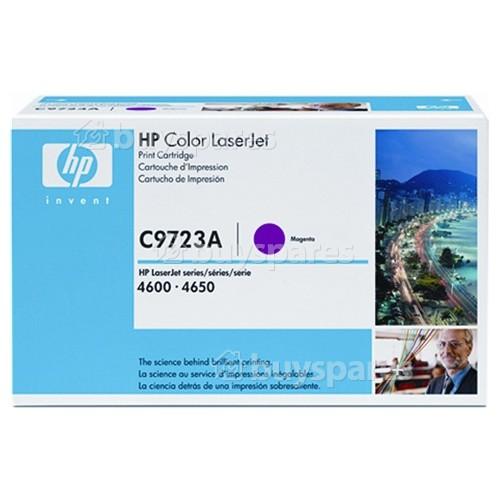 Hewlett Packard Genuine C9723A Magenta Toner Cartridge