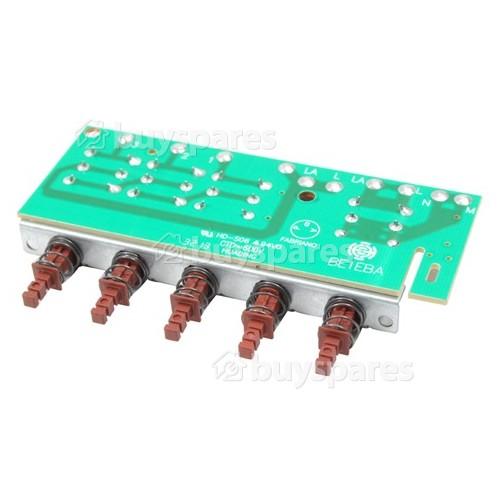 Indesit Schalterplatte PCB