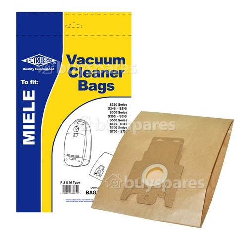 Miele S571 F/J/M Dust Bag (Pack Of 5) - BAG254