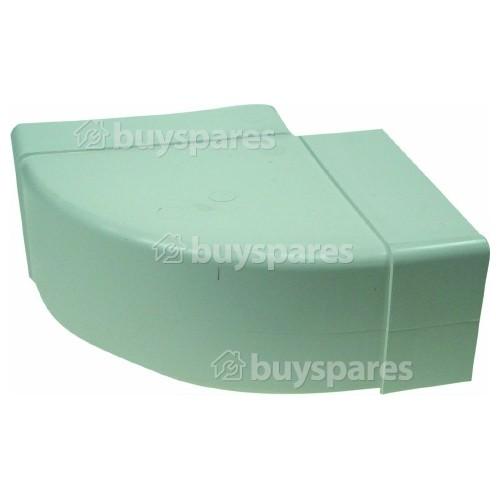Horizontal Bend Ducting: 90 Deg - 110mm X 54mm
