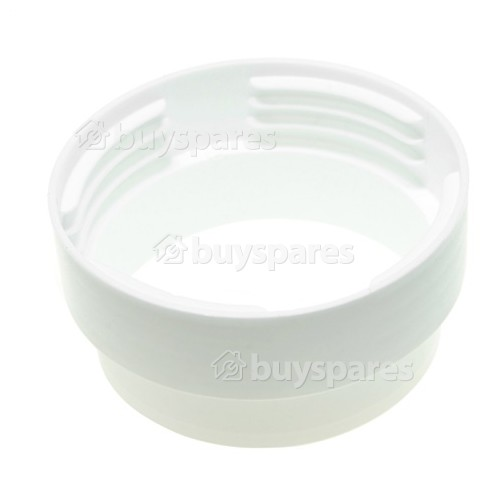 """Male Threaded Hose Ducting Connector - 3.9""""/100mm"""