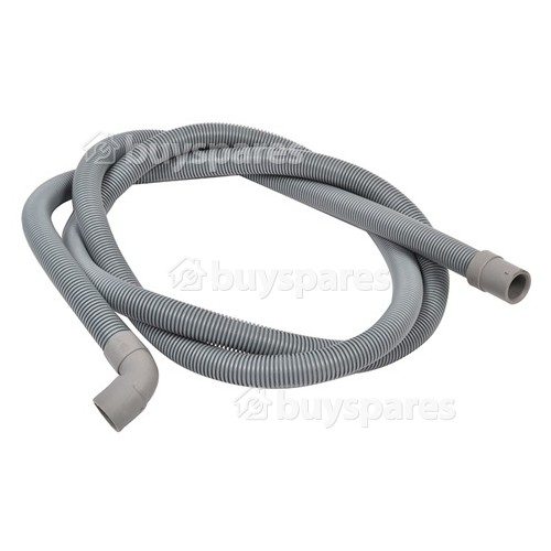 Hoover / Candy / Haier 2.3mtr. Drain Hose 19mm End With Right Angle End 22mm, Internal Dia.s'