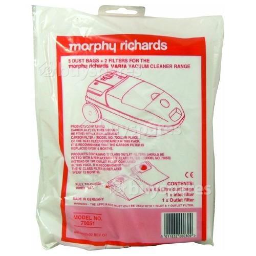 Morphy Richards Papierbeutel