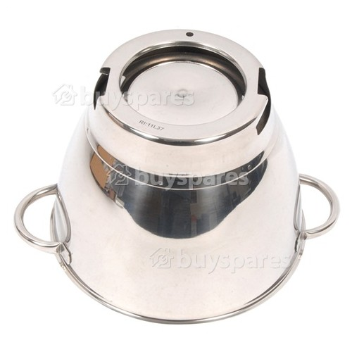 Kenwood KM200 Round Chef Bowl - Stainless Steel