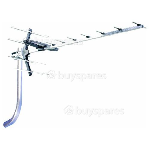 Antena De 12 Elementos RX Antiference