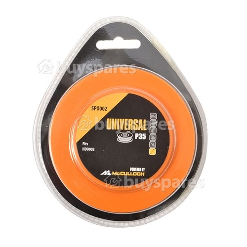 Universal Powered By McCulloch SPO002 Spool & Line