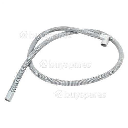 1.9mtr WD-3570-61 Drain Hose 19mm End (With Right Angle End 26mm) Internal Dia.s'