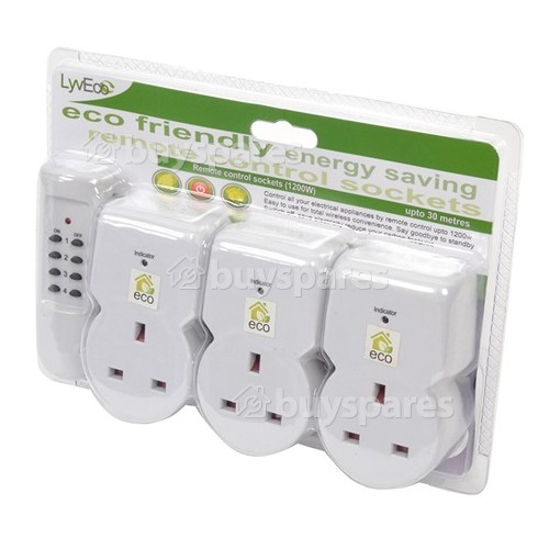 Lyvia Remote Control 13Amp. Type Sockets