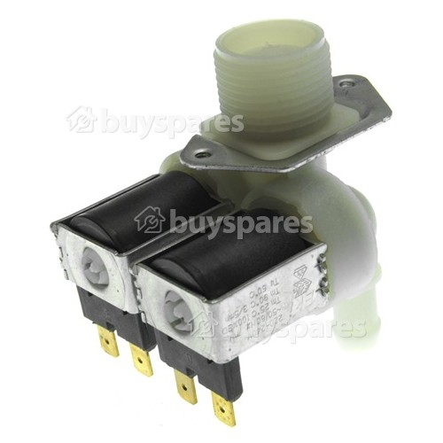 Auchan Cold Water Double Solenoid Inlet Valve : 180deg. 12 Bore Outlets