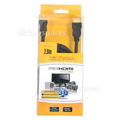 ABC Products Mini HDMI To HDMI Cable
