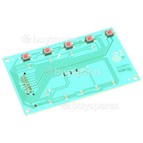 Belling Button Cluster / PCB