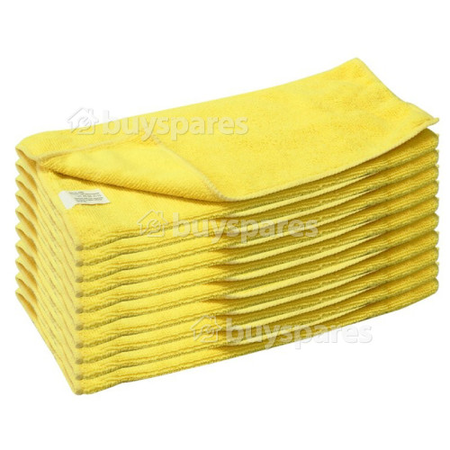Rolson Microfibre Cloth - Pack Of 10