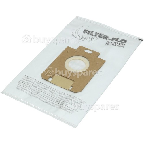 Philips Mobilo Plus HR 8568 S-Bag Classic Filter-Flo Synthetic Dust Bags (Pack Of 5) - BAG355