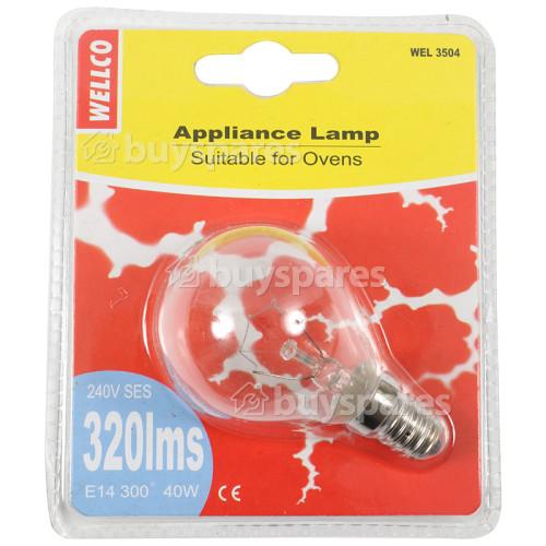 Wellco 40W Microwave Lamp SES/E14 240V