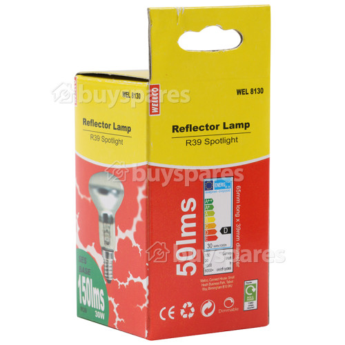 Wellco 30W R39 SES Spot Lamp
