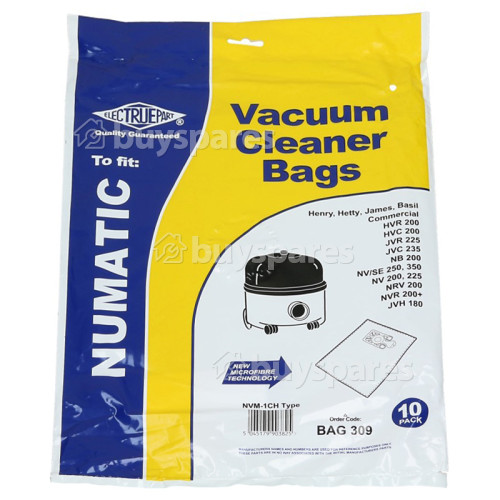 NVM-1CH Filter-Flo Synthetic Dust Bags (Pack Of 10) - BAG309