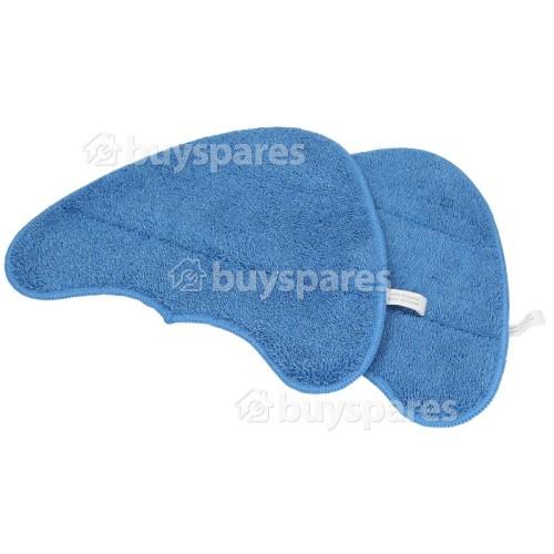 Mikrofaser Klettverschluss Bodentücher (2er Pack)
