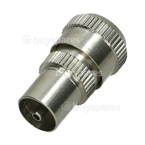 Avix Nickel Plated Brass Coaxial Plugs (Pack Of 25)