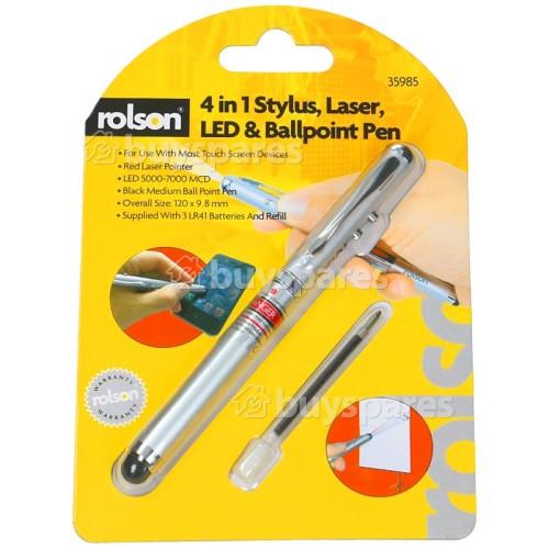 Rolson 4 In 1 Kugelschreiber