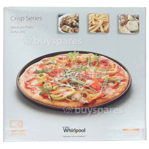 Whirlpool Medium Crisp Plate : Diameter: 310mm