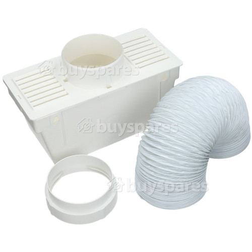 "Blomberg Universal Vent Kit Condenser Box (2m Length By 4"" Hose)"