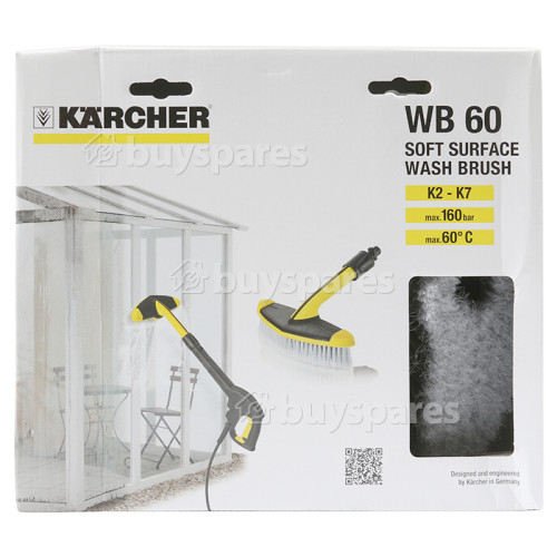 Karcher K2-K7 Weiche Flächenbürste WB60 2.643-233.0