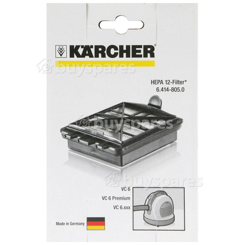 Karcher HEPA 12 Filter (VC 6xxx)