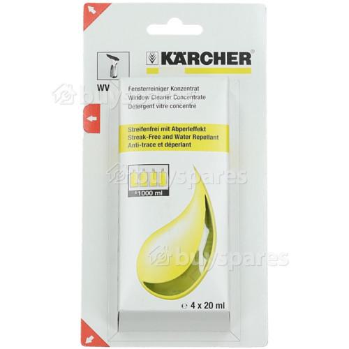 Karcher Glasreiniger-Konzentrat 4 X 20ml 6.295-302.0