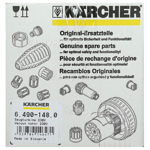 Karcher Saugturbine Kpl. - 230V