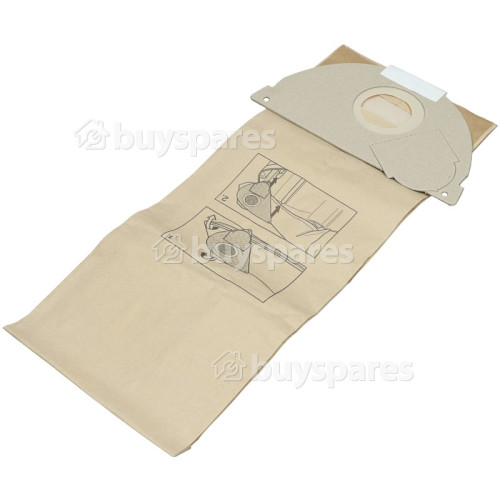 Karcher Paper Dust Bag (Pack Of 5)