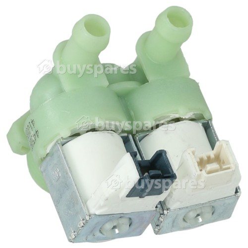 Carrefour Home Cold Water Double Inlet Solenoid Valve : 180Deg. With 12 Bore Outlets & Protected (push) Connectors