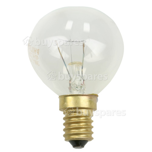Edison 40W SES (E14) Round Appliance Lamp