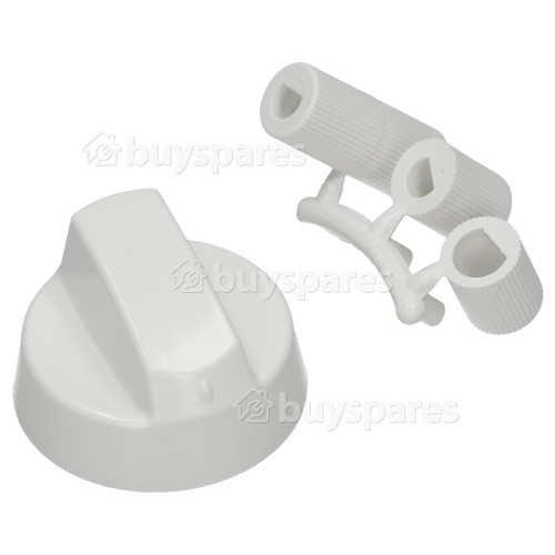 Universal Multifit Cooker Control Knob - White