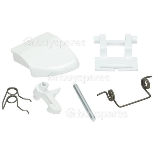 Malber Door Handle Kit - White