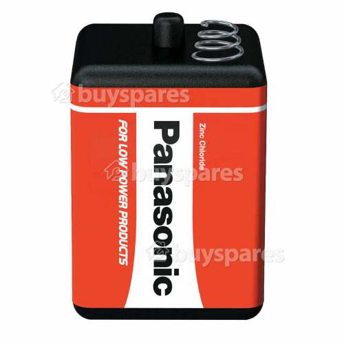 Panasonic 4R25R Heavy Duty Zinc Chloride Battery