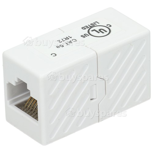 Philex CAT5E UTP RJ45 Inline Coupler