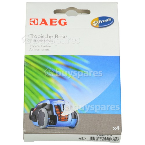 AEG S-fresh® Lufterfrischer - Tropische Brise (4er Packung)