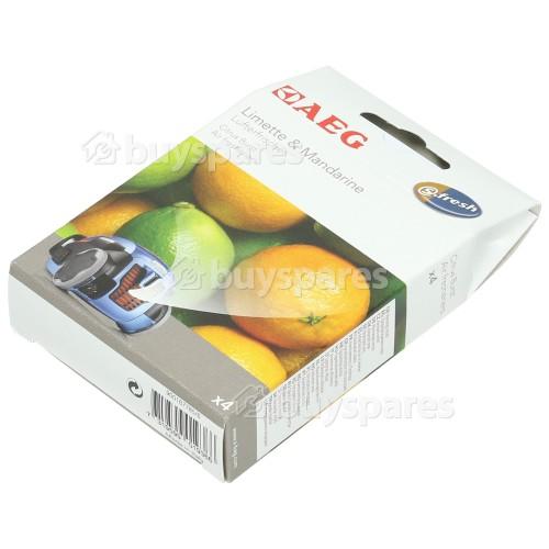 AEG S-fresh® Lufterfrischer - Limette & Mandarin (4er Packung)