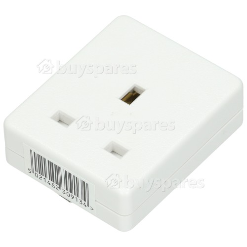 Avix 13A 1 Gang Trailing Socket - UK Plug